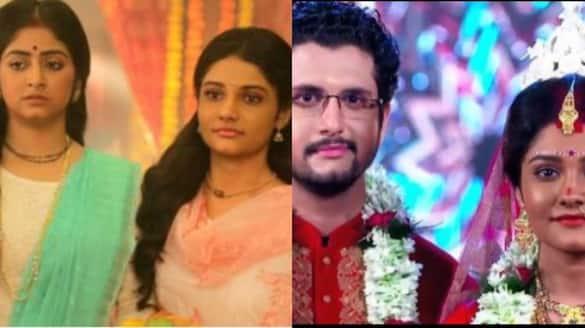 nikhil and shyama s daughter  soume chatterjee aka krishna get married onscreen BRD