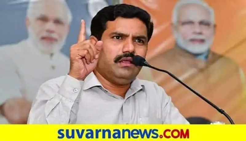 BJP Vice President BY Vijayendra Hits back at Minister CP Yogeeshwar rbj