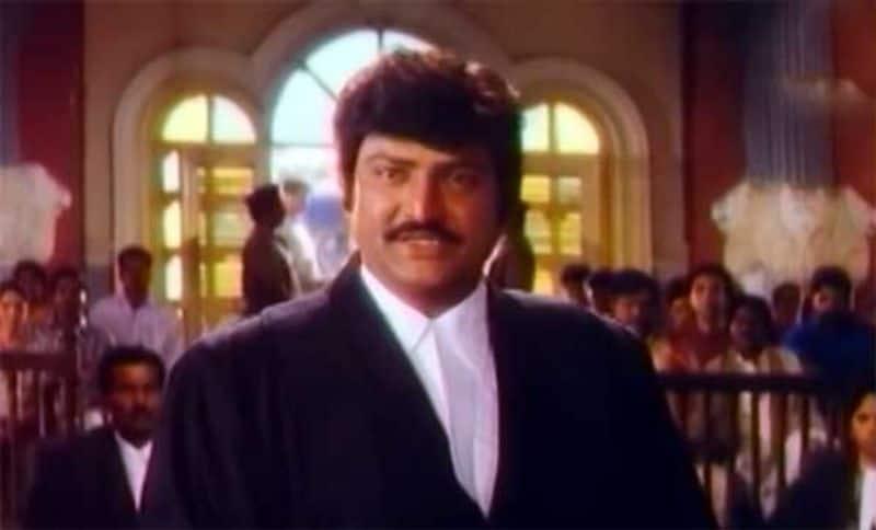 యమజాతకుడు చిత్రంలో లాయర్ రోల్ చేసిన మోహన్ బాబు