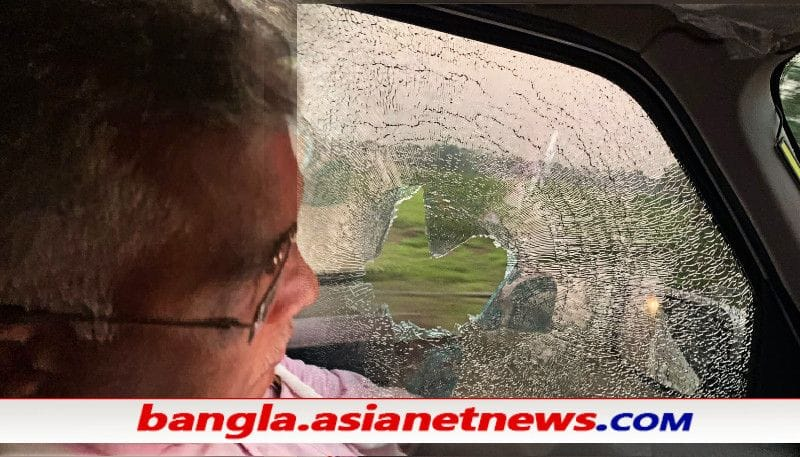 Dilip Ghosh's convoy attacked by TMC in Sitalkuchi ALB