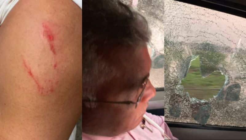 Dilip Ghosh gave reaction on his car attack in cochbihar Sitalkuchi spb