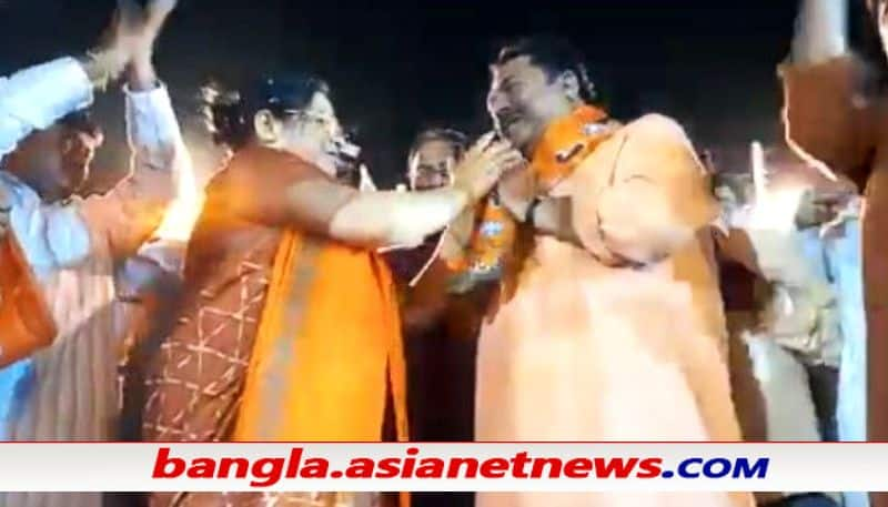 Itahar TMC MLA Amal Acharya joins BJP 15 days before the voting in North Dinajpore ALB
