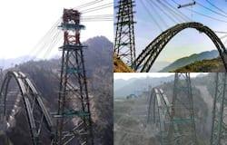 <p>Chenab Rail Bridge</p>