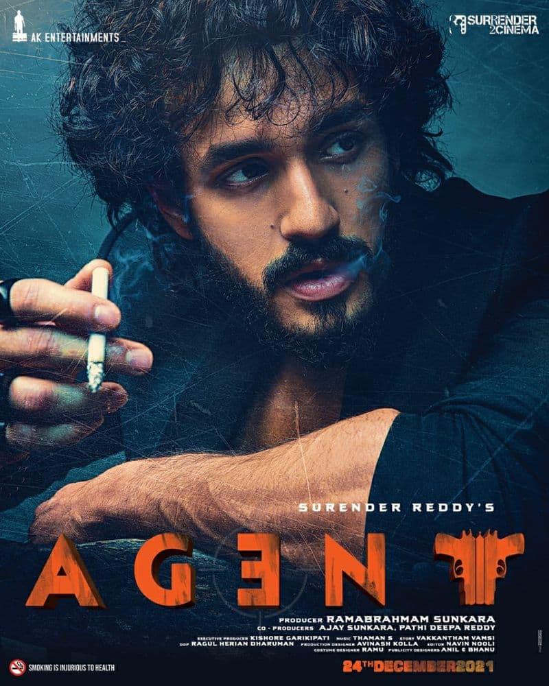akhil birth day special director surendar reddy made him an agent ksr