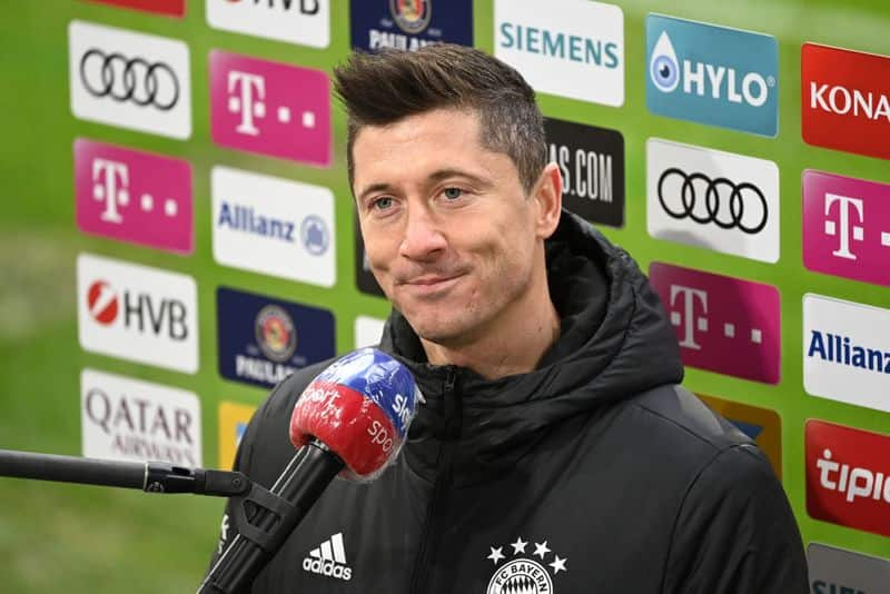 "<p>Meanwhile, star Munich striker Robert Lewandowski is to miss the second leg in Paris after suffering a knee injury, throwing its bid to come back in jeopardy. ""No, [next week] is still too early. I'll do everything I can to get back on the pitch, but only when I feel really good and safe. It's not a good feeling to sit at home,"" he told Sky Sports.</p>"