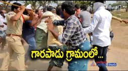 ap mptc,zptc election2021... ycp tdp supporters fight in garapadu