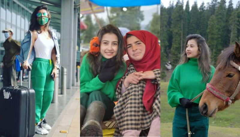 Bengali Actress Monami Ghosh spends quality time in kashmir video goes viral BRD