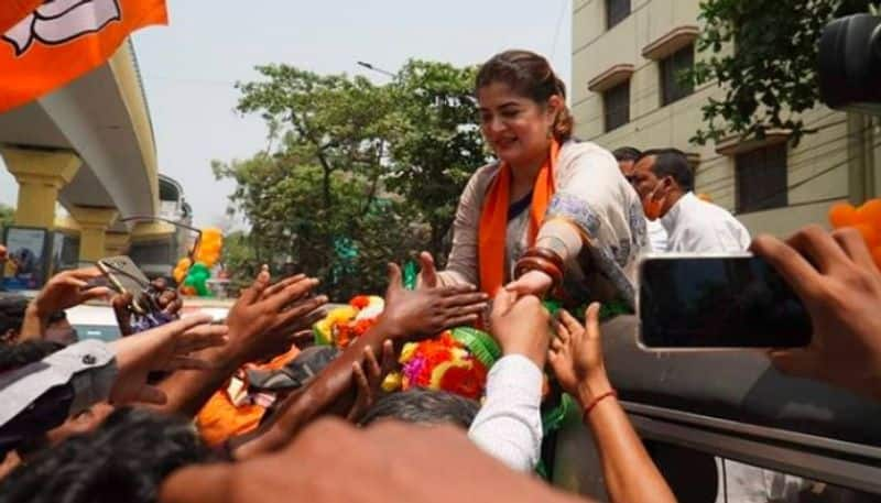 FIR file against BJP Candidate srabanti Chatterjee BJC