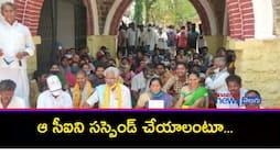 gonepudi  palapadu villagers strike at narasaraopet sub collectorate