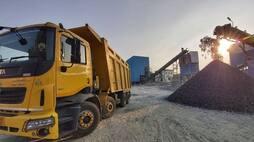 <p>Tata Motors truck</p>