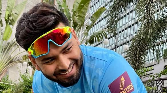 Rishabh Pant turns into a mower to keep himself fit before England tour spb