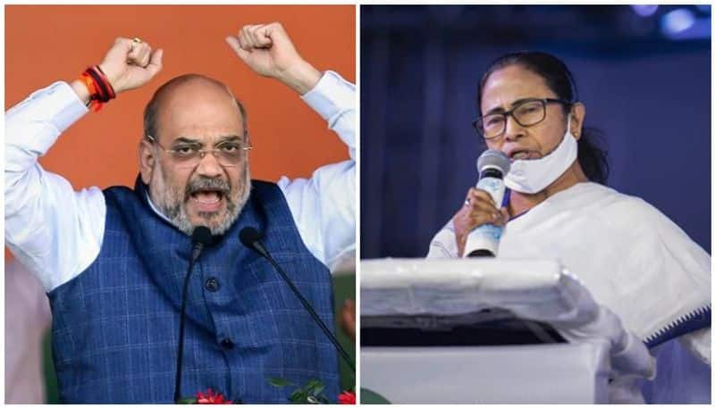 Amit Shah attacks to   CM Mamata Banerjee  on  multiple issue at Ausgram in WB RTB