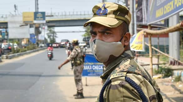 71 paramilitary personnel on election duty in Bengal tested positive for Covid-19 ALB