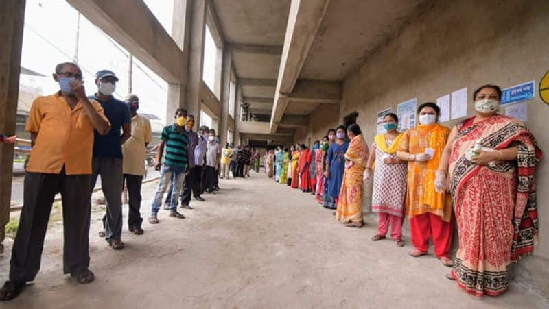 last phase polling continue in west bengal