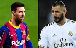 <p>Messi vs Benzema</p>