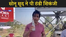 Actor sonu sood drinking lemon soda-video viral kpv