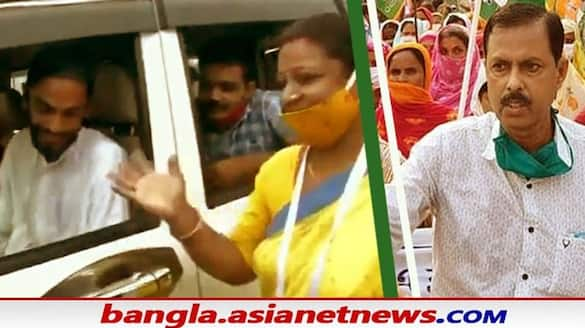 Bhangar ISF and Trinamool candidates set another precedent  bsm
