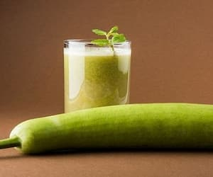 This bottle gourd infused water is a perfect fix for weight loss
