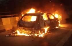 <p>car fire</p>