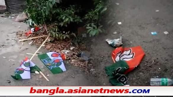 BJP allegedly thrashes TMC worker's house in Domjur after voting  ALB