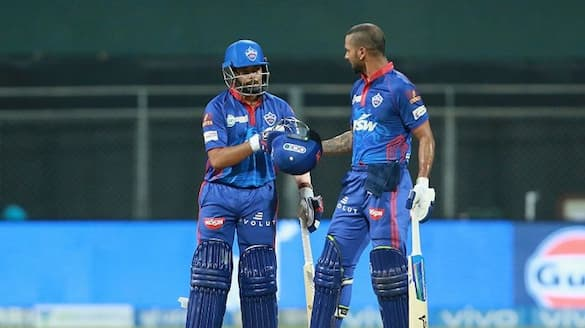 IPL 2021 Shikhar dhawan and Prithvi shah helps delhi capitals to beat CSK by 8 wickets ckm