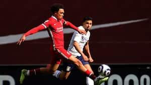 EPL 2020 21 Liverpool FC Beat Aston Villa on Arnold late goal