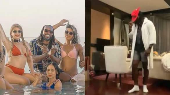 IPL 2021, New hiphop song of Punjab Kings cricketer chris gayle goes viral spb