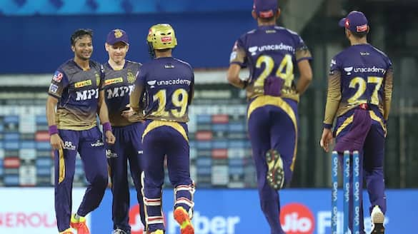 KKR win by 10 runs against SRH in first match of IPL 2021 spb