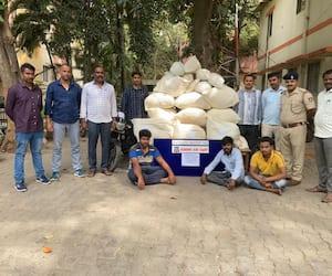 Three held for drug peddling in Bengaluru mah