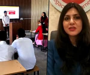 Quitting high-paying job in a multinational company, she started personality development training