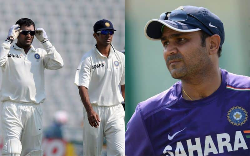 IPL 2021: Did Rahul Dravid once lose his cool over MS Dhoni? Virender Sehwag recalls-ayh