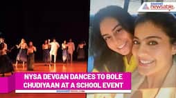 Watch Nysa Devgan performing on her mom Kajol's hit songs at a school event - gps