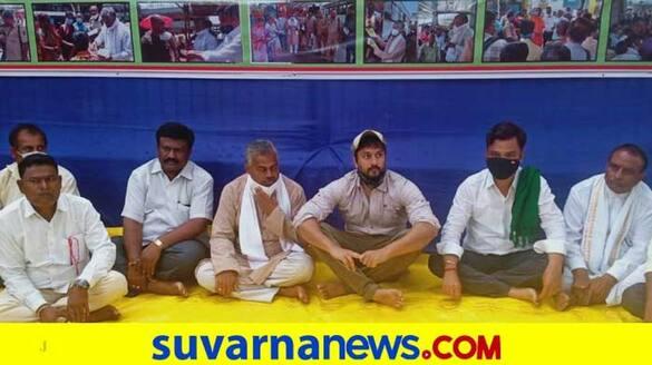 Bus Strike actor chetan kumar supports ksrtc employees mah