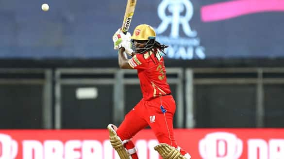 IPL 2021, Chris Gayle became the first batsman to hit 350 sixes in the IPL history spb