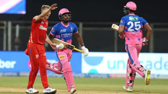 IPL 2021, Punajb Kings win by 4 runs in last ball thriller against Rajasthan Royals spb
