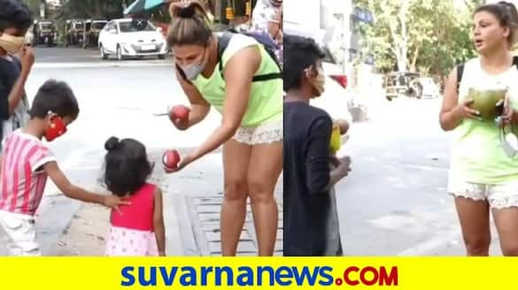 Tell your mother to not produce more kids Rakhi to kids begging on street dpl