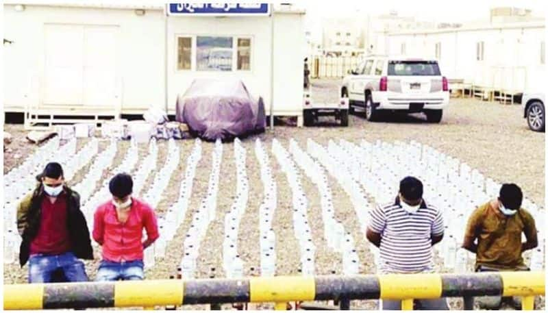 four expatriates held in kuwait for running liquor factory in kuwait