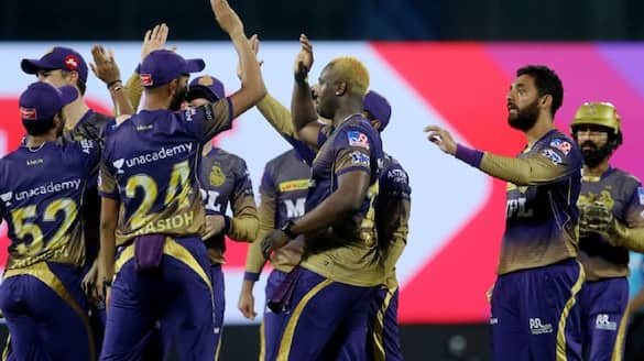 Andre Russell take 5 wicket, Mumbai Indians gave  runs target to KKR in IPL 2021 spb
