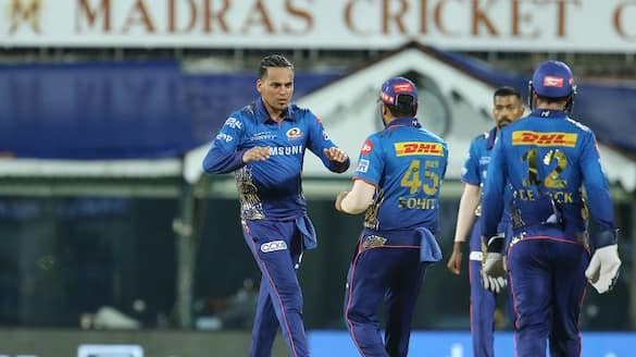 IPL 2021 Rahul chahar helps mumbai Indians to Beat kkr by 10 runs ckm