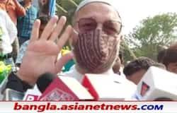 <p>Image of Aimim Chief Asaduddin Owaisi</p>