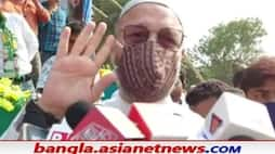 <p>Image of Aimim Chief Asaduddin Owaisi</p>