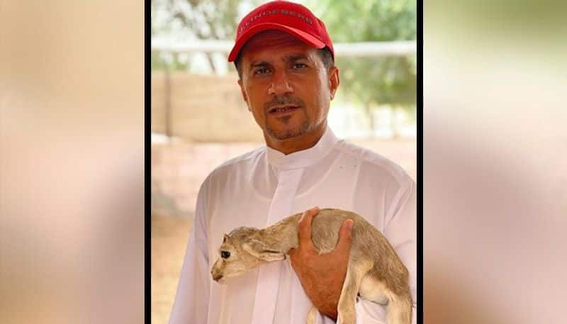 Masoud Alhammad, Lieutenant Colonel of Dubai, says it's important for keeping pets' mental health in check