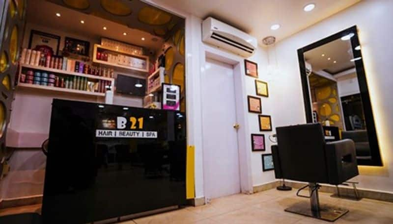 B 21 Salon's excellent services & good word of mouth has made it people's favourite