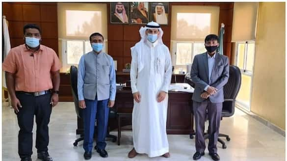 indian embassy team visited saudi labour offices