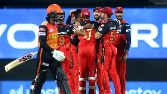 IPL 2021: Three-wicket over from Shahbaz helps RCB beat Hyderabad by 6 runs rbj