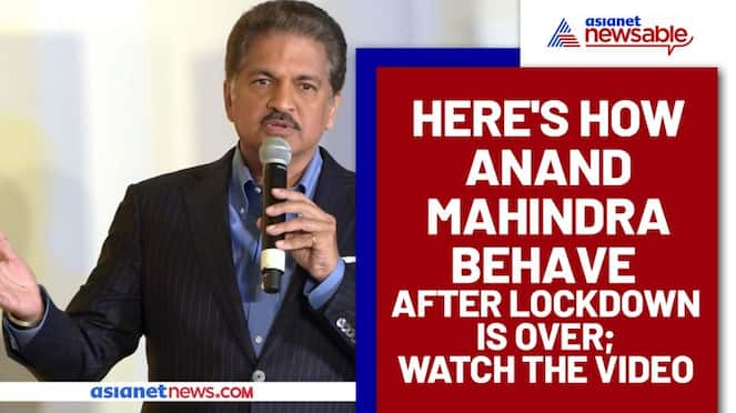 Anand Mahindra revealed how he would celebrate once lockdown is over; Video goes viral - gps