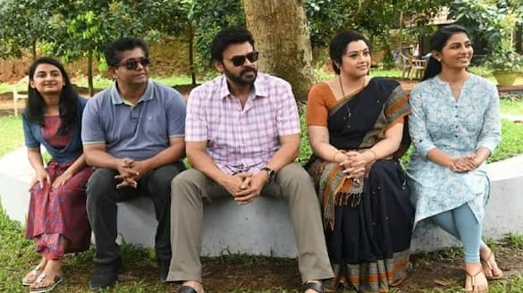 venkatesh completed his shooting portion from drushyam 2 arj