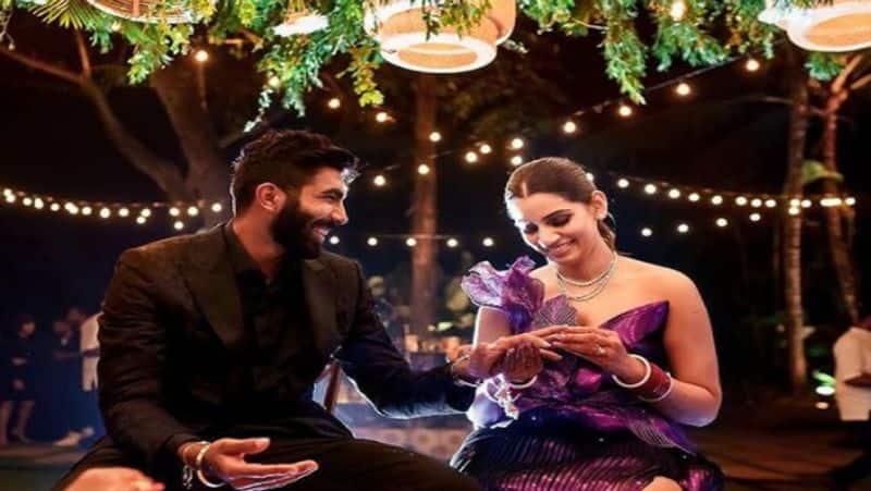 """Jasprit Bumrah Reacts As Sanjana Ganesan Finds """"Good Light"""", Takes """"Great Photos"""""""