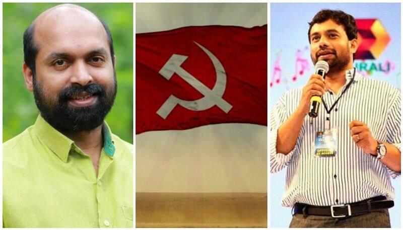 john brittas and v sivadasan cpim candidates to rajyasabha