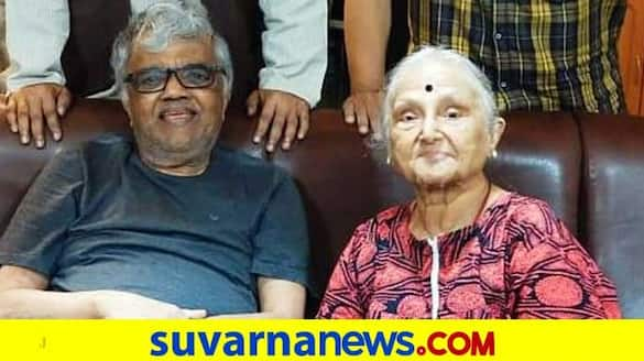 Veteran Actor Producer dwarakish-wife-ambuja-passes away at 80 mah